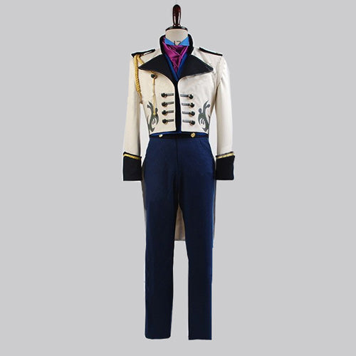 Prince Hans Cosplay Costume Hans Suit Coat Tuxedo TUX Outfit