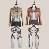 Attack on Titan Shingeki no Kyojin Eren Jaeger Cosplay Costume Full Set