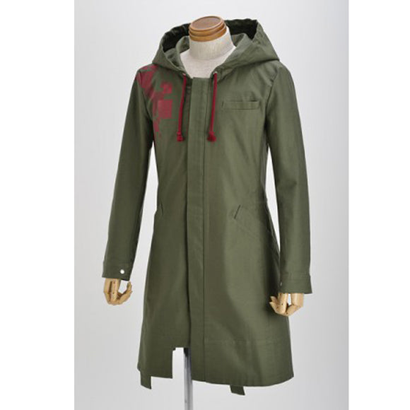 Super Danganronpa 2 Nagito Komaeda Nagito Army Jacket Cosplay Costume Green Coat