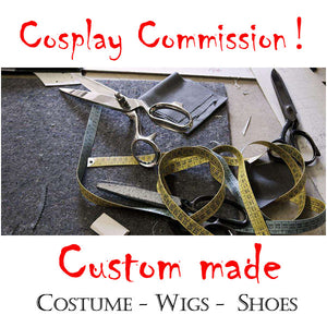 Professional Cosplay Commissions! Custom Made Cosplay Costume, Wigs, Shoes