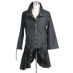 Nymphadora Tonks Jacket Costume Tonks Cosplay Black Outfit