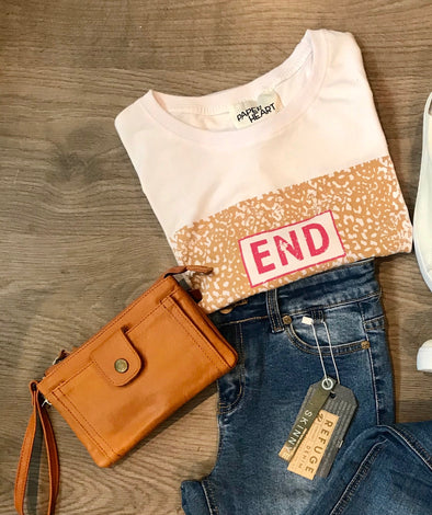 End Leopard Tee