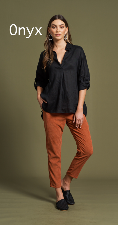 Jacinda Shirt - Miss Velvet Boutique - Frankston Fashion - Affordable Womenswear - Style