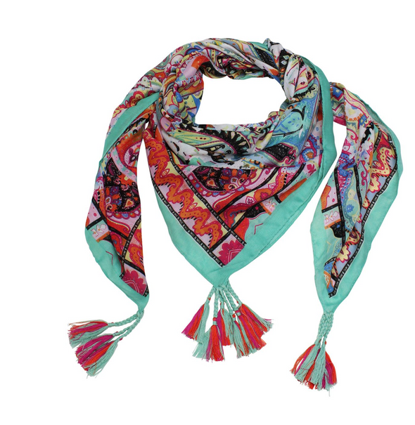 Mint Temple Scarf