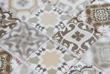 Brown Patterned Glass Mosaic Tiles (MT0181)
