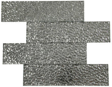Load image into Gallery viewer, Silver Lava Glass Subway Tile 75x300mm (MT0192)