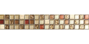 Copper Gold Mix Mosaic Kitchen Bathroom Wall Tiles | Grand Taps