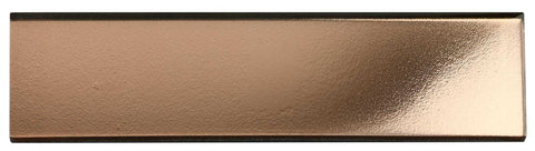 Copper Glass Subway Tile 75x300mm (MT0196)