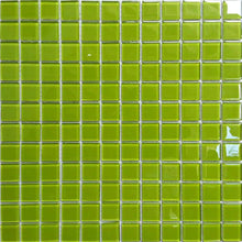 Load image into Gallery viewer, Green Glass Mosaic Tiles (MT0023)