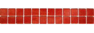 Orange Glitter Tile Border | Orange Glitter Kitchen Tiles | Grand Taps