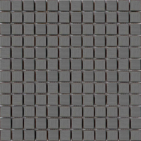 Black Stainless Steel Mosaic Bathroom Kitchen Splashback Tiles | Grand Taps