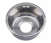 Load image into Gallery viewer, 286mm Compact Inset Round Utility Room Sink | Grand Taps