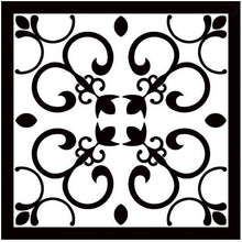 Load image into Gallery viewer, Black White Italian Vintage Victorian Floor Wall Tiles | Grand Taps
