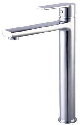 Tall Single Lever Basin Mixer Tap (Brenz 7)