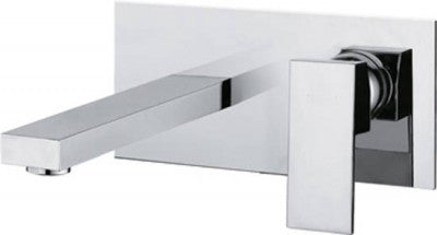 Modern Wall Mounted Single Lever Basin Mixer Tap (14007)