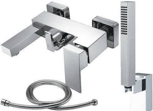 Bath Mixer Tap + Shower (Weser 4)