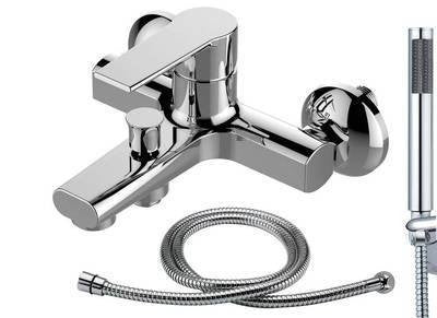 Wall Mounted Bath & Shower Mixer (Brenz 4)