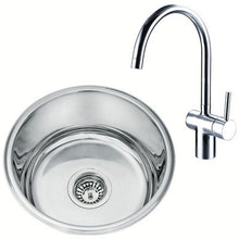Load image into Gallery viewer, Undermount Kitchen Sink And Mixer Tap Set (KST004)