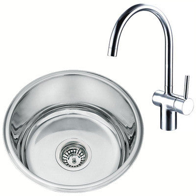 Undermount Kitchen Sink And Mixer Tap Set (KST004)