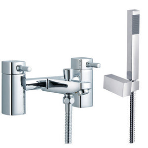 Modern Square Bath Mixer Tap & Shower (ICE 4)