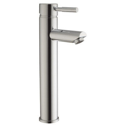 Tall Minimalist Chrome Basin Mixer Tap (Lola 7)