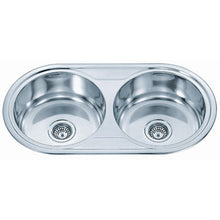 Load image into Gallery viewer, Polished Inset 2.0 Bowl Stainless Steel Sink (P01)