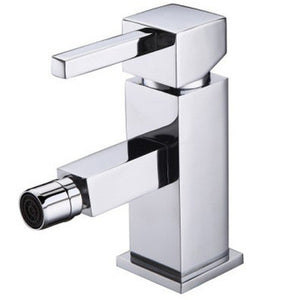 Square Design Chrome Bidet Mixer Tap (SQ 6)