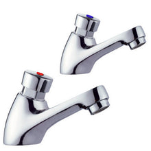 Load image into Gallery viewer, Hot & Cold Self Closing Basin Taps (1025)