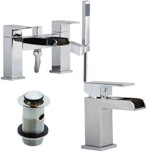 Bath & Basin Mixer Tap Set + Shower (Desire 41)