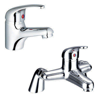 Bath & Basin Single Lever Mixer Tap Set (Aero 5b1)