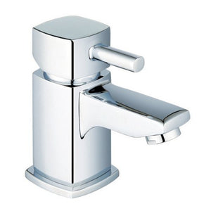 Modern Square Bath & Basin Mixer Tap Set (ICE 51)