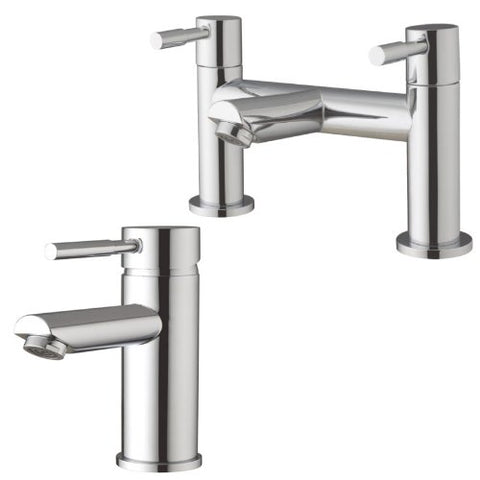 Modern Minimalist Bath Mixer Tap And Basin Mixer Tap (Lola 51)