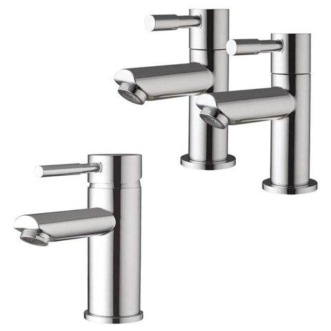 Modern Minimalist Bath Taps And Basin Mixer Tap (Lola 31)