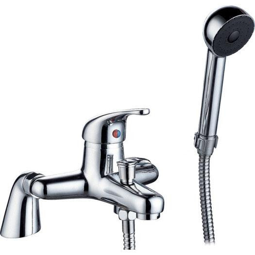 Bath & Basin Mixer Tap Set (Aero 4b1)