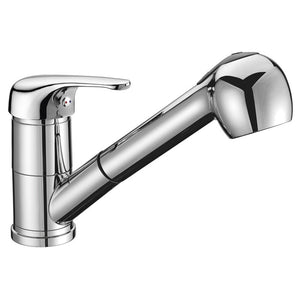 425mm Polished Inset Round Stainless Steel Kitchen Sink & Kitchen Mixer Tap (KST089)