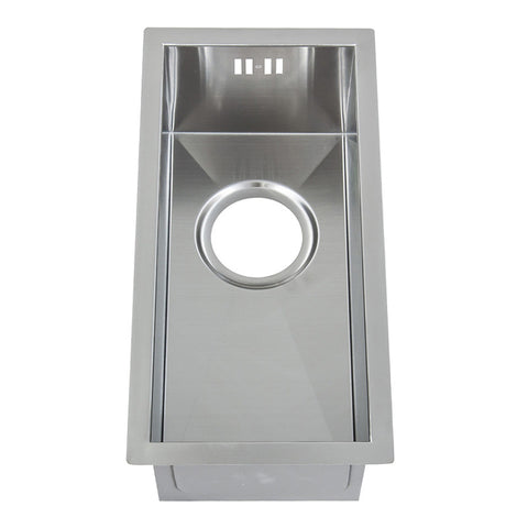 440 x 220mm Undermount Half-Bowl Handmade Stainless Steel Sink (DS004)