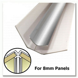 8mm Cutline Shower Panel Trims and Extras