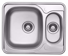 Load image into Gallery viewer, 594 x 488mm Reversible Stainless Steel Sink With Accesories (LA005)