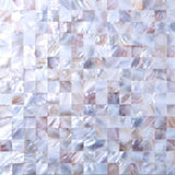 Mother of Pearl Sea Shell Mosaic Tiles sheet (MT0160)