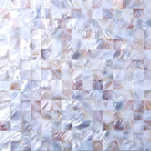 Load image into Gallery viewer, Sample of Mother of Pearl Sea Shell Mosaic Tiles sheet (MT0160)