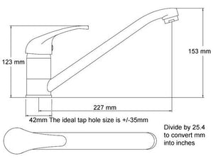 1180 x 480mm Inset Double Bowl Kitchen Sink & Mixer Tap | Grand Taps