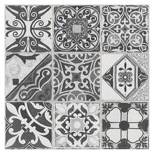 Load image into Gallery viewer, Victorian Black White Tiles | Edwardian Black White Tiles | Grand Taps