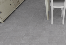 Load image into Gallery viewer, Distressed Flock Grey Kitchen Bathroom Floor Tiles | Grand Taps