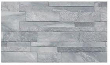 Load image into Gallery viewer, Marmi Grey Split Face Interlocking Porcelain Wall Tile
