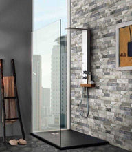 Load image into Gallery viewer, Argille Navy Slip Brick Interlocking Porcelain Wall Tile