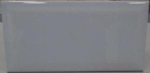 Light Grey Beveled Subway Tile