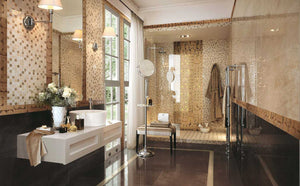 Bronze Gloss Kitchen Bathroom Hallway Tiles | Grand Taps