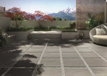 Load image into Gallery viewer, 600x600mm Quarz Grey Italian Outdoor Porcelain Tiles (IT0121)