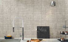 Load image into Gallery viewer, Grey Weave Effect Kitchen Bathroom Tiles | Grand Taps