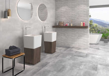Load image into Gallery viewer, Kamen Gris Light Grey Stone Effect Porcelain Tiles
